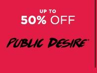 Up To 50 Off Public Desire | Shop Brands | Sale