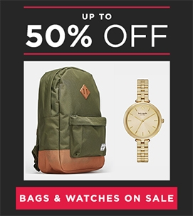 Up To 50 Off Bags And Watches | Sale