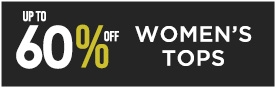 Up To 60 Off Women's Tops | Sale