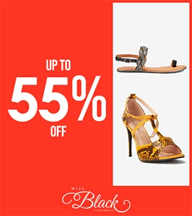 Up To 55 Off Miss Black | Sale