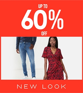 Up To 60 Off New Look | Sale