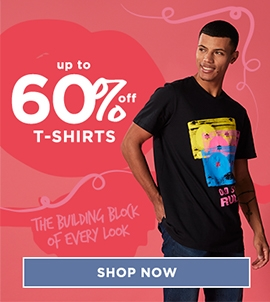 Up To 60 Off Mens T-shirts