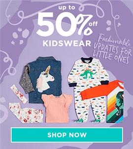 Up To 50 Off Kidswear
