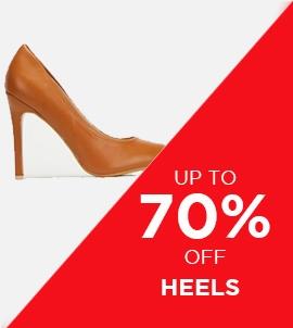 Up To 70 Off Heels   Sale