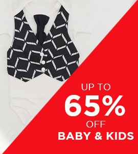 Up To 65 Off Baby And Kids | Sale