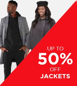 Up To 50 Off Jackets | Sale