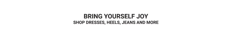 Bring Yourself Joy - Women's Categories