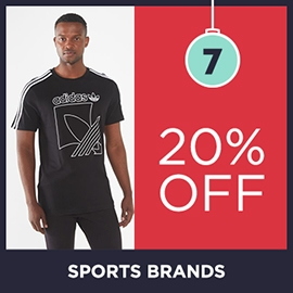 20 Off Sports Brands | Christmas Shop