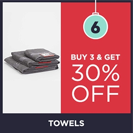 Buy 3 Get 30 Off Towels | Christmas Shop