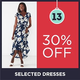 30 Off Selected Dresses | Christmas Shop