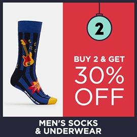 Buy 2 Get 30 Off Mens Underwear And Socks | Christmas Shop