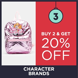 Buy 2 Get 20% Off Character Brands | Christmas Shop