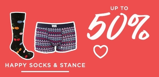 Shop Up To 50 Off Men's Happy Socks And Stance
