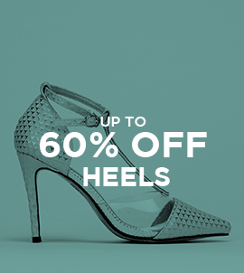 Up To 60 Off Heels   Sale