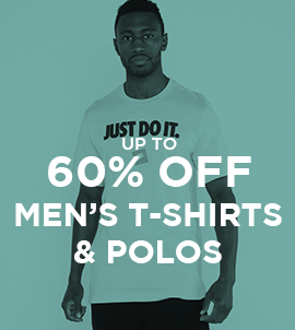 Up To 60 Off Men's T-shirts And Polos   Sale