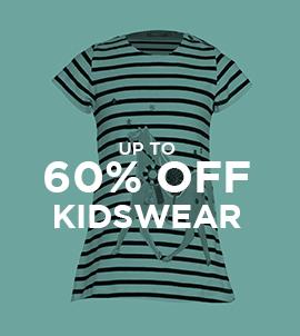 Up To 60 Off Kidswear   Sale