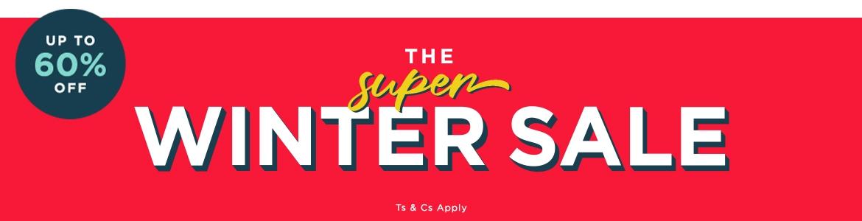 Super Winter Sale Header