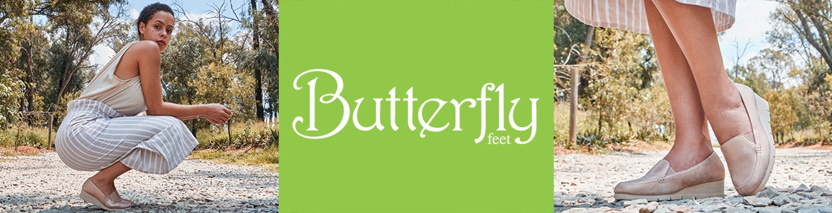 Butterfly Feet Header