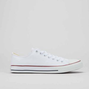 Viper 1 Low Cut Canvas Sneakers White