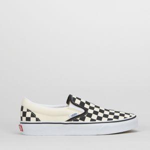 Classic Slip-On Sneakers White/Black