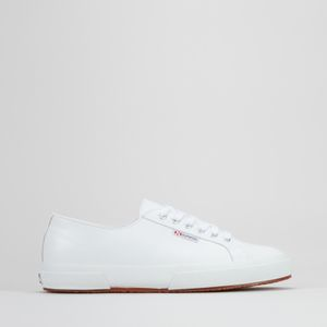 Classic Nappa Leather Lo Sneakers White