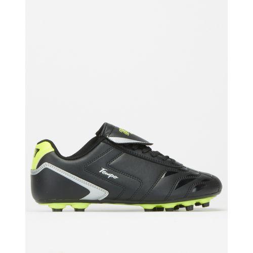 K-Star 7 Boys Black Tempo Soccer Boots