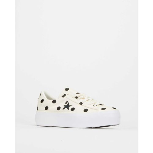 Converse Converse One Star Platform Embroidered Dots OX