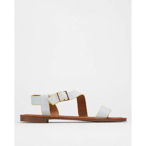 Neon Sandals White/ Yellow Madison