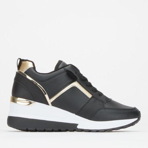 L Odin Sneakers Black/Gold Soviet