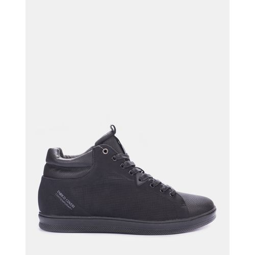 High-Top Sneakers Black Enrico Coveri
