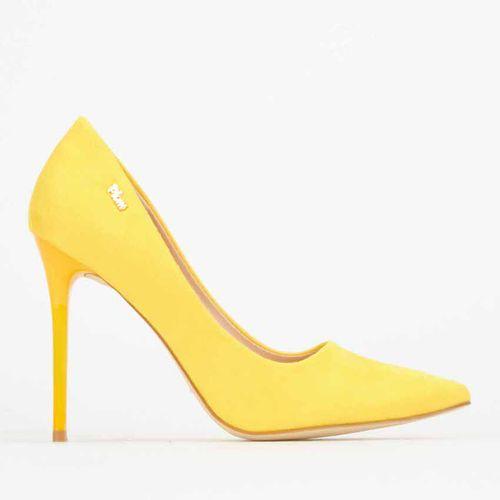 Tracy Court Heels Yellow Plum   Price