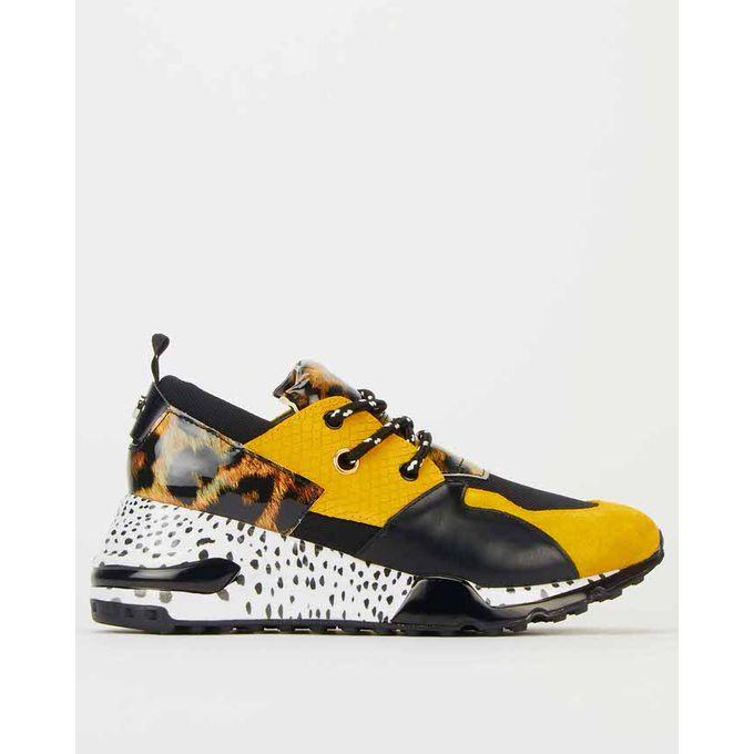 Cliff Sneakers Yellow Multi Steve
