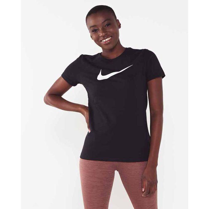 recogido tienda de liquidación guapo Nike Performance W NK Miler Top SS Black Nike Performance | South ...