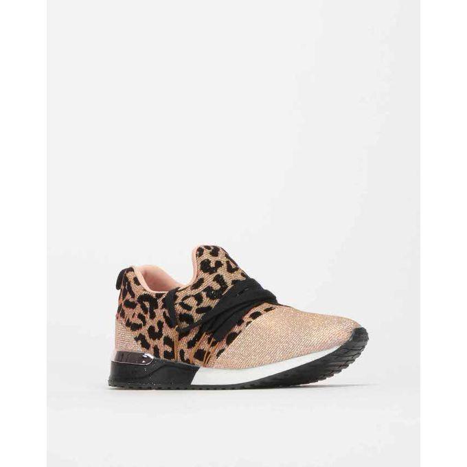 Creeper Animal Print Sneakers Sissy Boy