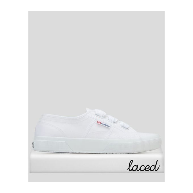 Big Lace Sneakers White Superga | Price