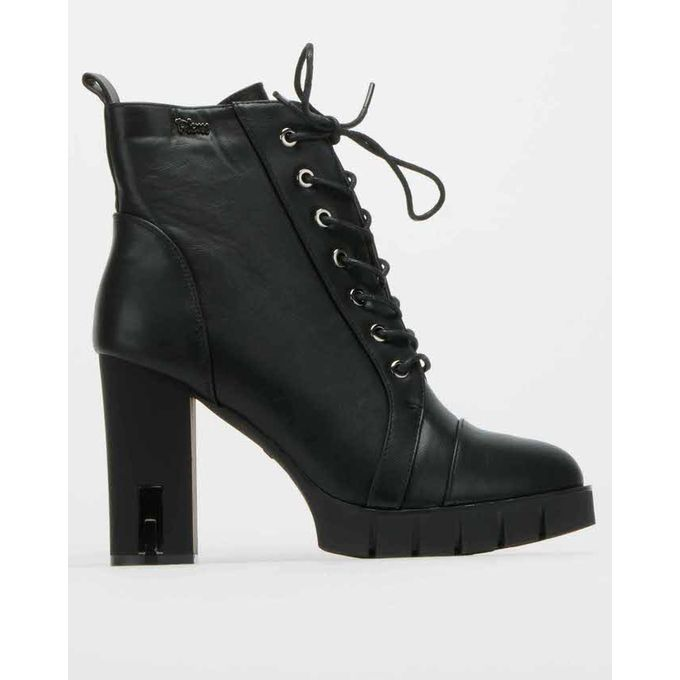 Becky Ankle Boots Black Plum   Price in